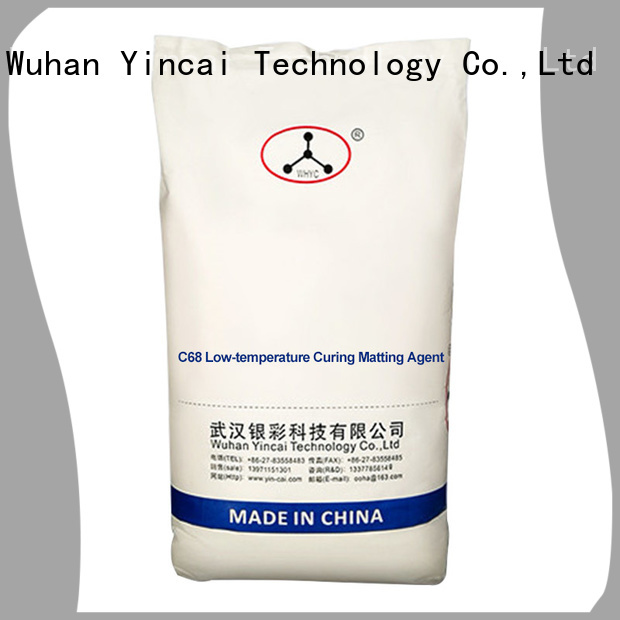 Yincai eco-friendly indoor matting agent brand for powder coating